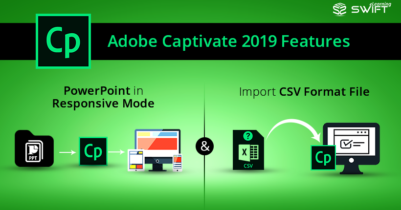 Adobe Captivate 2019 Features: PowerPoint in Responsive Mode and Import CSV Format File