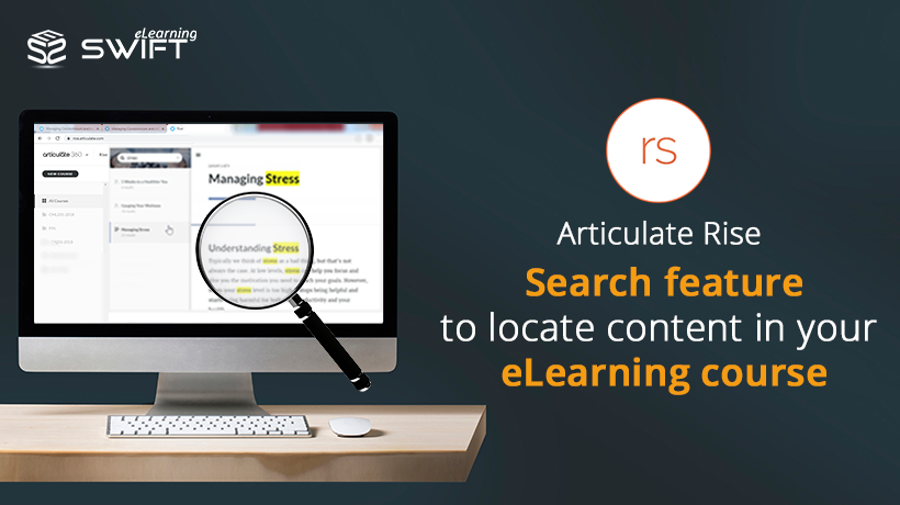 Articulate Rise Course Content Search Feature
