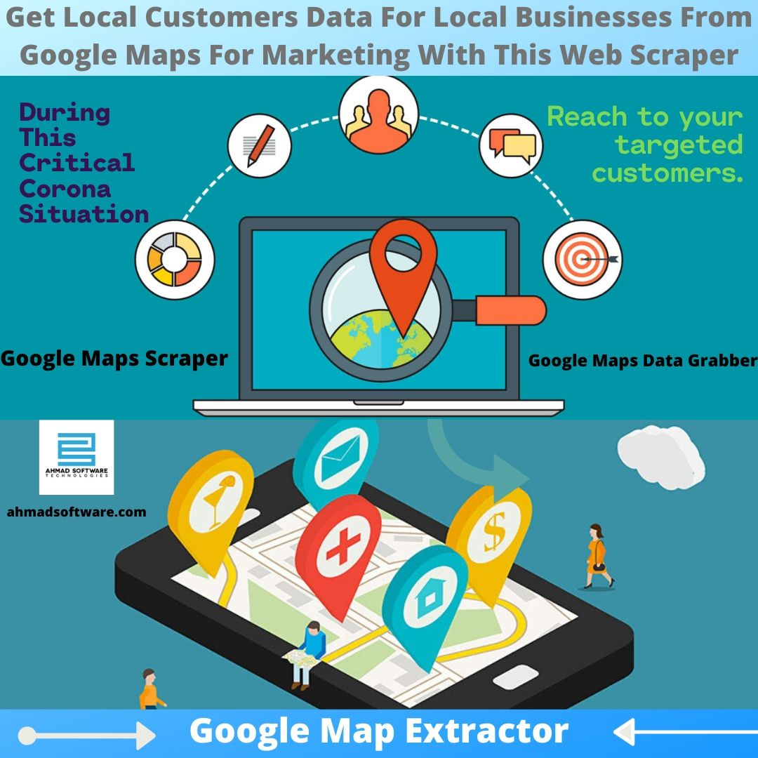 How to Get Relevant Data of Local Customers from Google Maps to Beat Competitors?