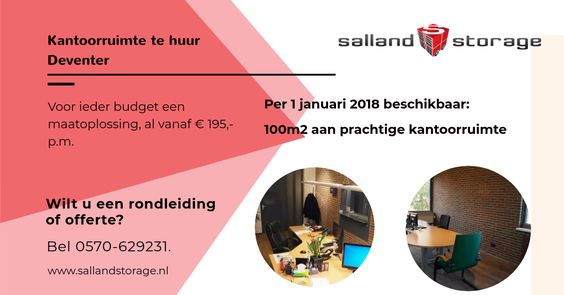 Kantoorruimte Deventer | Salland Storage
