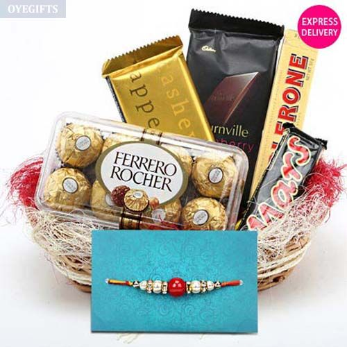 Send Rakhi Gifts for Brother Online across India - Oyegifts