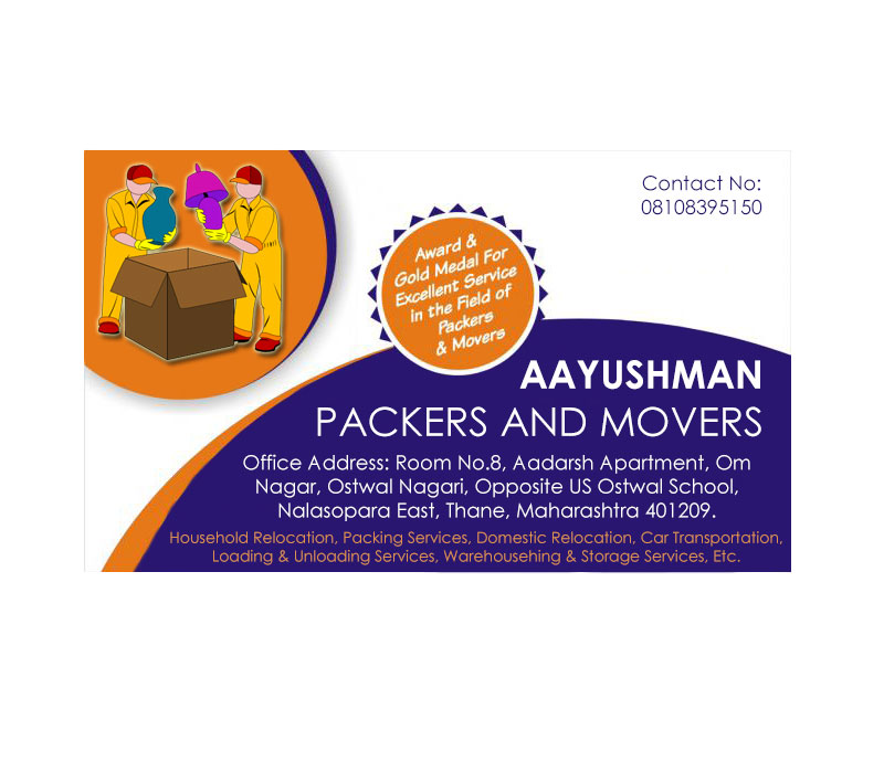 Aayushman Packers And Movers