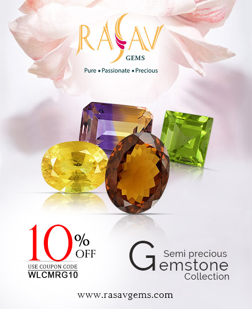 Rasav Gems presents #adorable #Precious & #Semiprecious Gemstones at Wholesale Price.