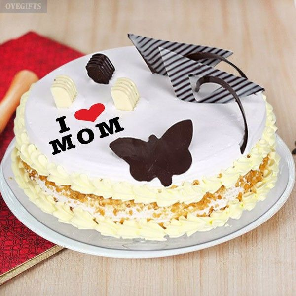 Mothers Day Cake Online Delivery in India - OyeGifts