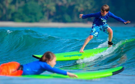 Surf School in Manuel Antonio - Bluehorizoncostarica.com