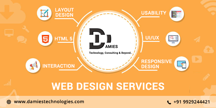 Outsource Web Design Services Company in India