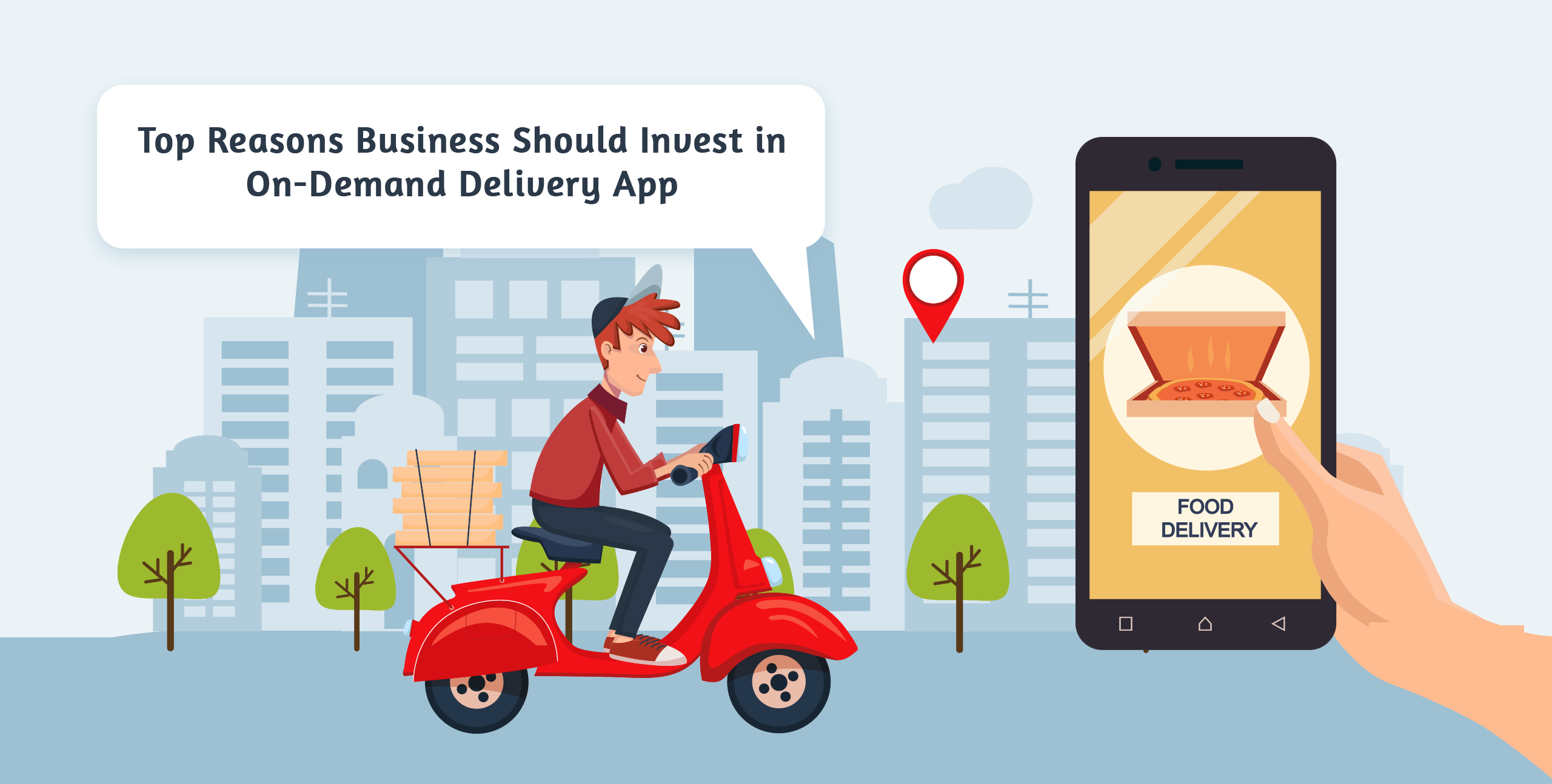 Is it a Wise Decision to Invest In a Food Delivery App?